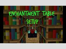 How To Make A Enchantment Table In Minecraft Pe Survival