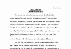 Literary Analysis Essay A Rose For Emily How To Write A Research  Literary Analysis Essay A Rose For Emily Example English Essay also Research Paper Vs Essay  Buy Research Report