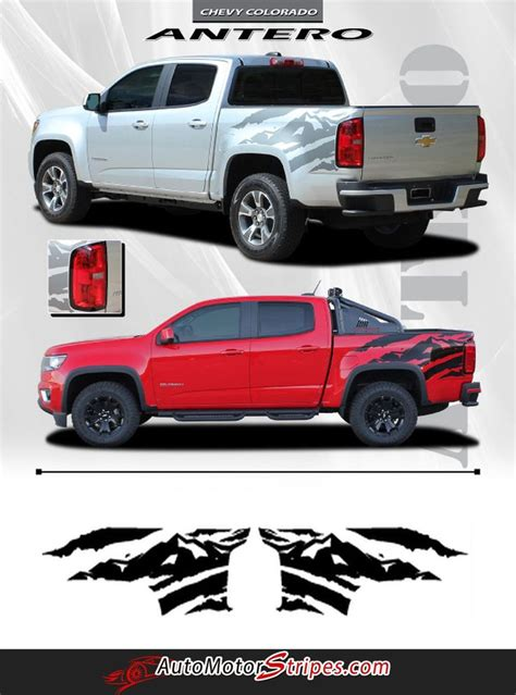 2015 2016 2017 2018 Chevy Colorado ANTERO Rear Side Truck