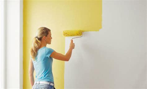 Farbe Zum Streichen by Maltechniken Farben Tapeten W 228 Nde Streichen Wand