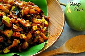 Instant Mango Pickle Recipe- How to make spicy Kerala ...
