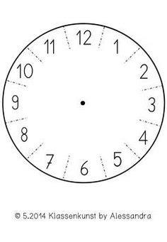 Uhr Zum Basteln Uhr Vorlage Zum Basteln Grundschule Uhrzeit Grundschule Uhr Arbeitsblatt Und Uhr Lernen Kinder
