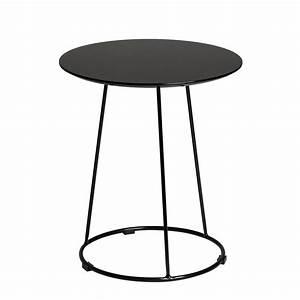 Beistelltisch Schwarz Rund : beistelltisch schwarz rund energiemakeovernop ~ Michelbontemps.com Haus und Dekorationen