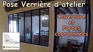 Pose Verriere Sur Placo : poser une verriere d 39 atelier interieure et faire une ~ Melissatoandfro.com Idées de Décoration