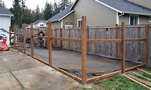 decorative wire fencing With cedar shavings for dog kennels