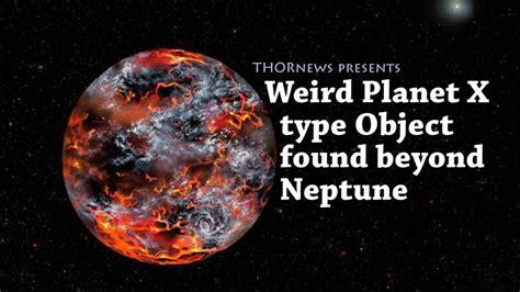 strange odd planet  type object   neptune