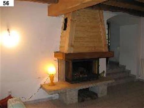 habillage cuisine décoration hotte cheminée