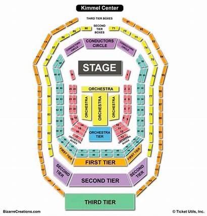Seating Kimmel Center Chart Verizon Hall Orlando