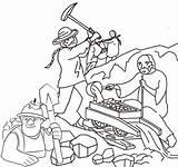 Coloring Miner Coloringpagesfortoddlers Disimpan Dari sketch template