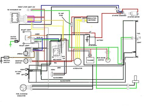 diagram triumph t100 wiring diagram