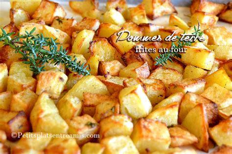 pommes de terre frites au four petits plats entre amis