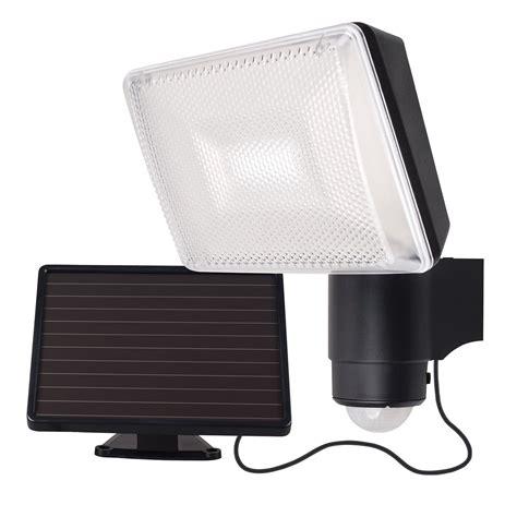 solar security lights solei solar led security light with sensor brilliant