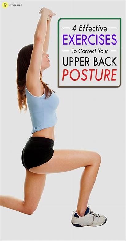 Posture Exercises Upper Correct Workout Effective Better