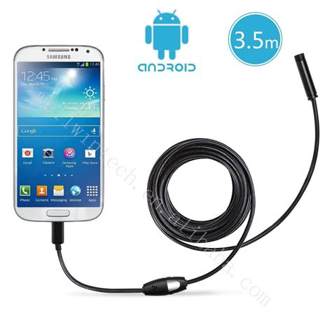 usb endoskop kamera android smartphone usb endoskop inspektion kamera 6 led