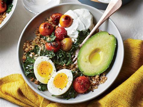 cuisine light farro breakfast bowl recipe cooking light