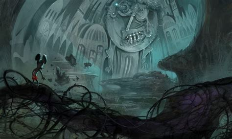 Beautiful Epic Mickey Concept Art Nintendo Everything