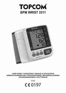 Topcom Bpm 3311 Blood Pressure Monitor Download Manual For