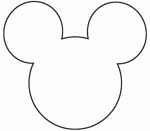 free printable mickey mouse silhouette google search With large mickey mouse head template