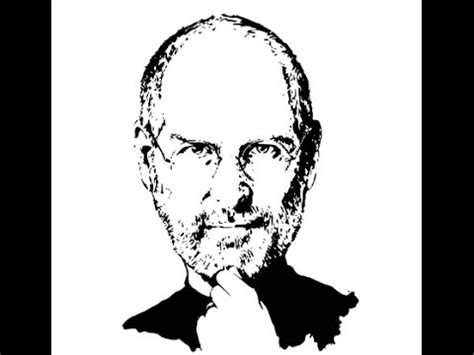 draw steve jobs face sketch drawing step  step