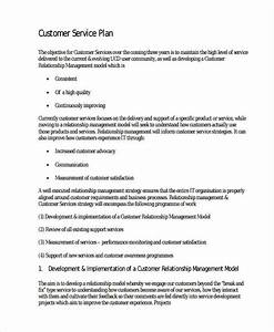 45 examples of implementation plans With customer service business plan template