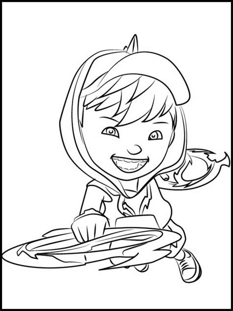 coloring pages boboiboy the 2 colouring