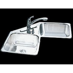 kitchen steel sink blanco style 2 corner sink available at home depot 3103