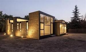 Maison Modulaire Bois : 39 maison modulaire 39 in construire tendance ~ Melissatoandfro.com Idées de Décoration