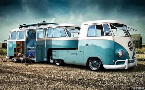 volkswagen kombi custom kombi ute and converted kombi caravan caravans