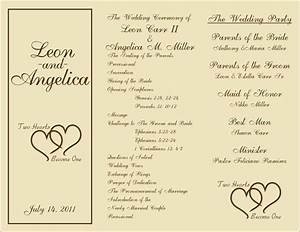 35 best images about printable wedding programs on With wedding programs ideas samples