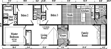 Home Floor Plans Ranch Style by Floor Plans For Ranch Homes Jamestown Ranch Style