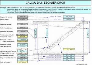 Comment Calculer Les Marches Dun Escalier