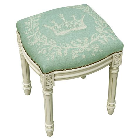 Vanity And Stool by Stools Quot Palais Royale Quot Upholstered Stool Vanity Seat