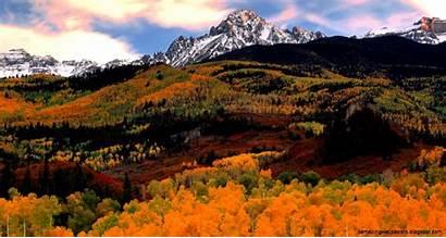 Fall Desktop Android Wallpapers Colorado Mountain Autumn