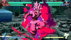 DRAGON BALL FIGHTERZ | GOKU BLACK ROSÉ MOVESET | Anime Amino