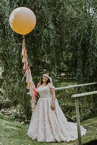 a blush pink watters wedding dress and laid back glamour With laid back wedding dresses