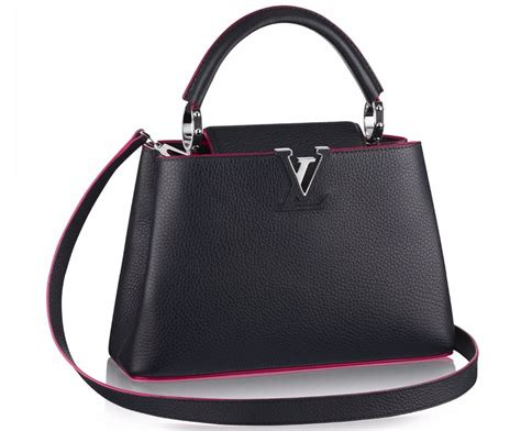 louis vuitton adds contrast trims   beloved capucines bags luxurylaunches