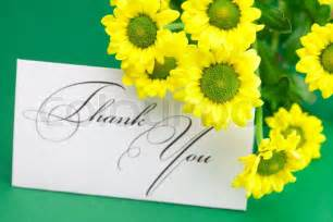 Yellow and Green Thank You Card