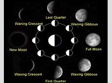 Phases of the Moon, Moon Phase December 2014, New Moon