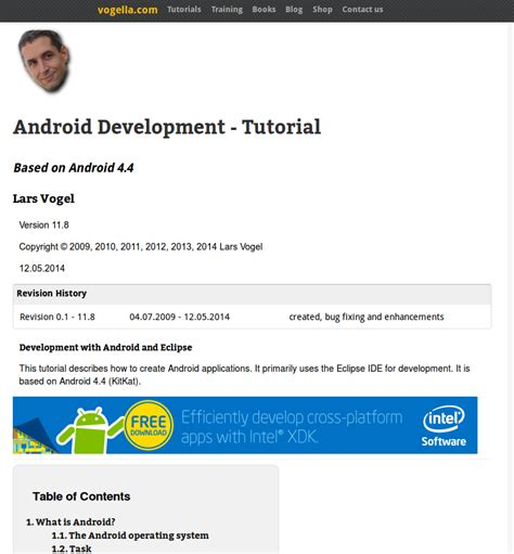 android programming tutorial 12 android tutorials for beginners