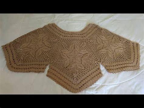blusa tejida a crochet todas las tallas tutorial paso a paso facil y rapido 2 youtube