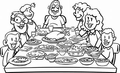 Clipart Thanksgiving Dinner Table Clip Holiday
