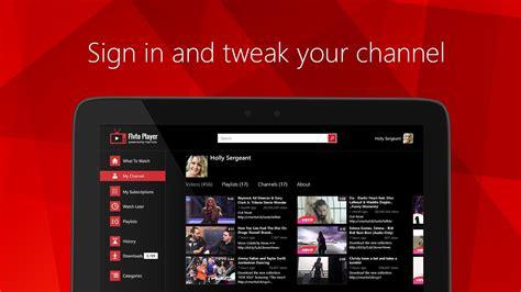Flvto Player 4k Hd For Youtube For Windows 10