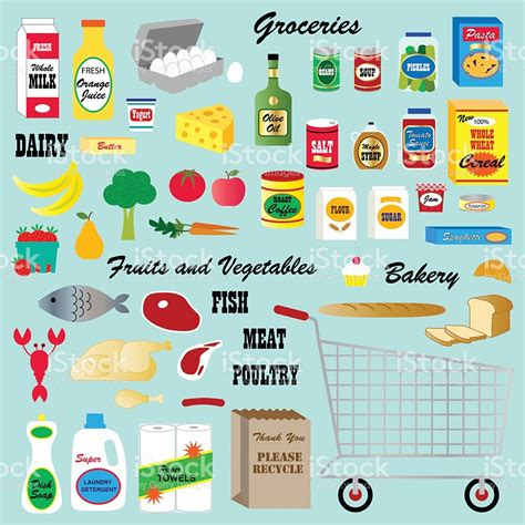 Grocery Store Clipart 186 Supermarket Clipart Tiny Clipart