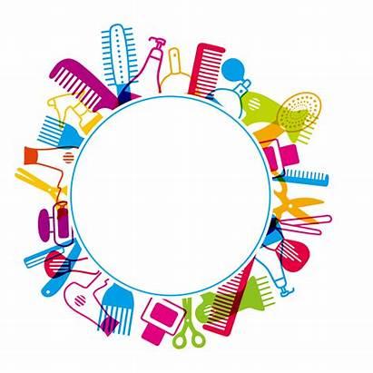 Beauty Clipart Hairdresser Parlour Cosmetology Comb Hair