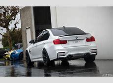 Alpine White BMW F80 M3 With Cosmetic Upgrades