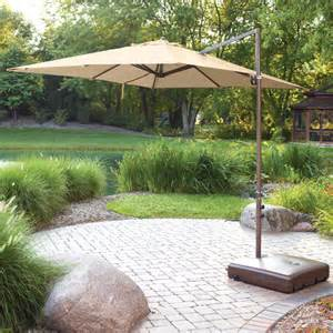 mainstays offset outdoor umbrella base walmart com