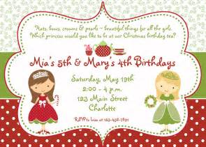 items similar to princess tea party christmas birthday party invitation christmas tea party