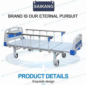 Sk031 Hospital 2 Crank Manual Patient Bed For Sale