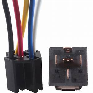 Dc Car Vehicle 12v Volt 80a Amp Transparent Relay  U0026 Socket
