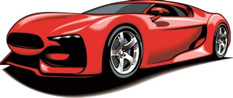 Sports Car Vector Art Free Download Free Clipart